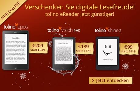 Verschenken Sie digitale Lesefreude mit tolino