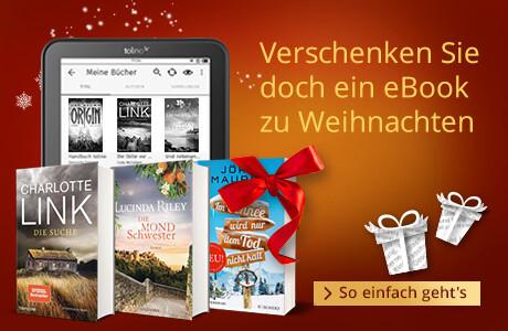Verschenken Sie ein eBooks zu Weihnachten!