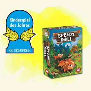 Kinderspiel des Jahres 2020: Speedy Roll