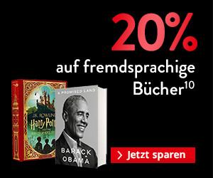BLACK WEEK 2020 Gutschein: 20% auf fremdsprachige Bücher