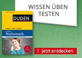 Lernhilfen bei Hugendubel.de: Duden Wissen Üben Testen