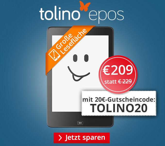 tolino epos - Jetzt 20€ sparen!