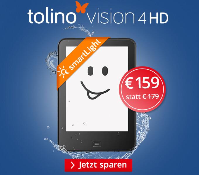 tolino vision 4 HD - Macht jede Zeit zur Lesezeit