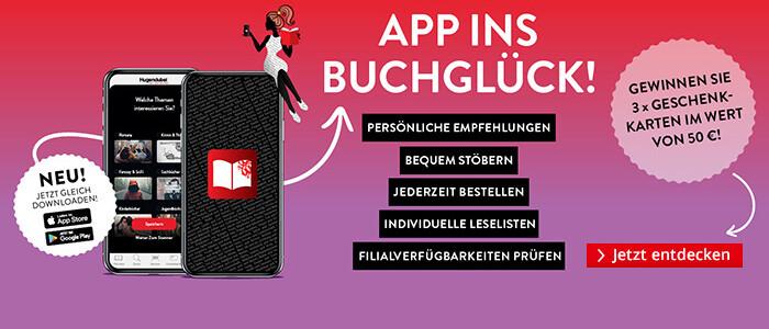 App ins Buchglück: Entdecken Sie die Hugendubel App
