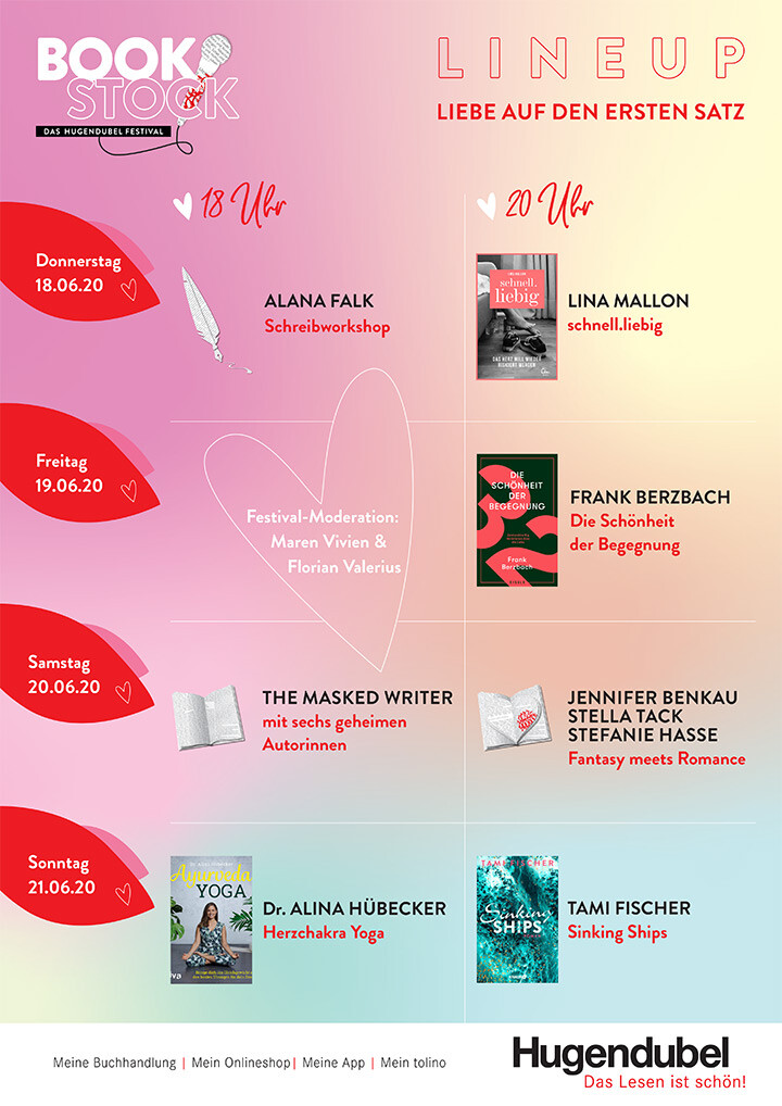 Bookstock Lineup