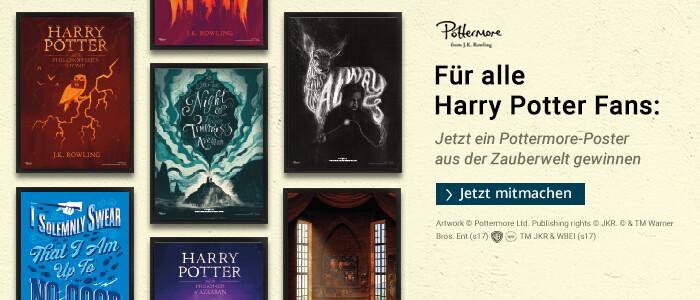 Harry Potter Gewinnspiel - jetzte eins von fünf exklusiven Pottermore Postern gewinnen