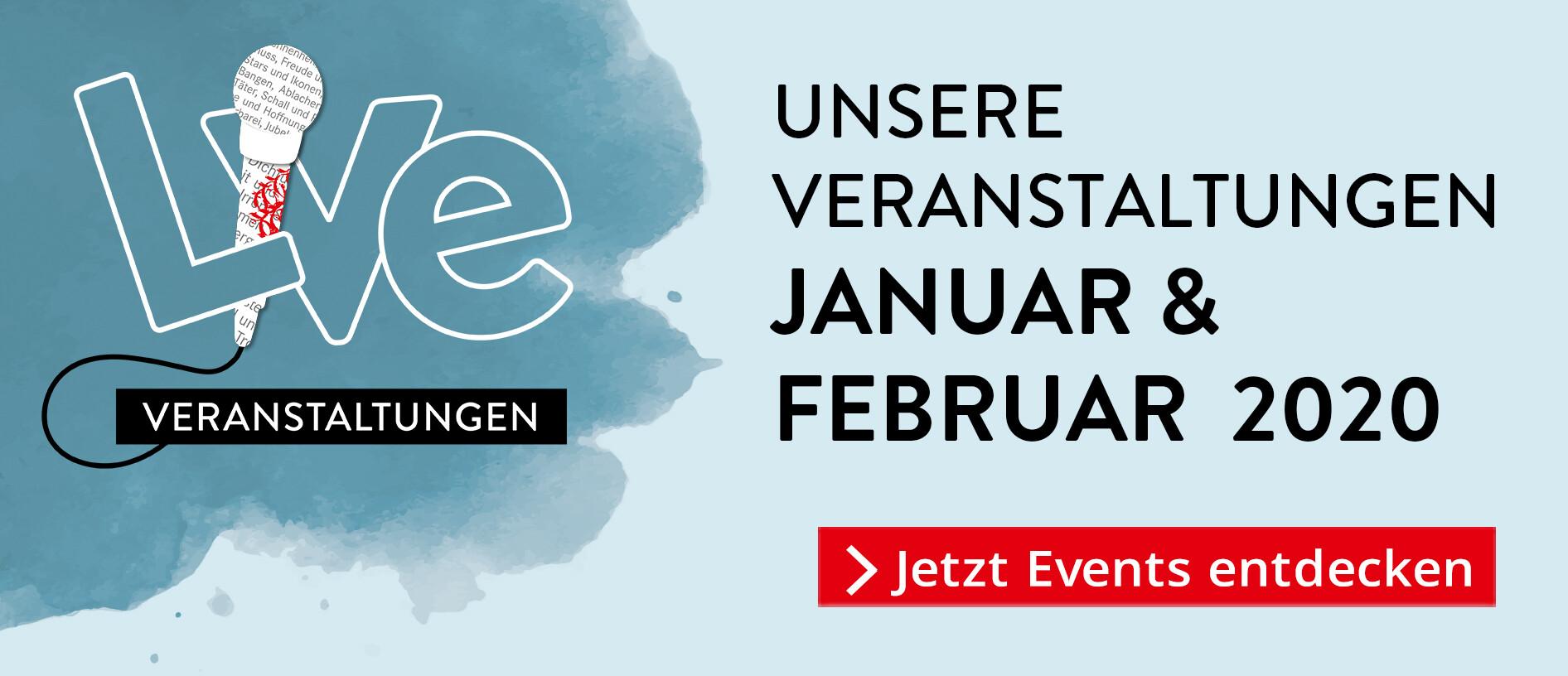 Unsere Veranstaltungen im Januar
