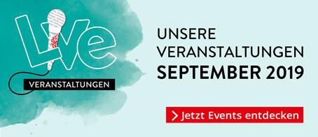 Unsere Veranstaltungen im September
