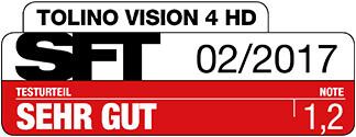 SFT Award tolino-eReader vision 4 HD