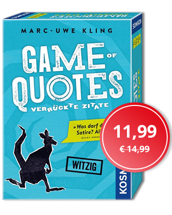 Angebot der Woche: Game of Quotes