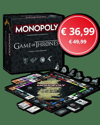 Angebot der Woche: Monopoly - Game of Thrones