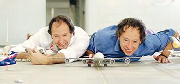Frederik und Gerrit Braun