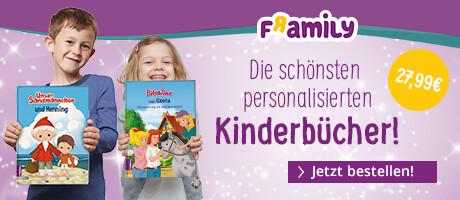 Framily - das personalisierte Kinderbuch