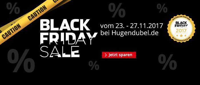 Jetzt sensationelle Black Friday Angebote bei Hugendubel entdecken!