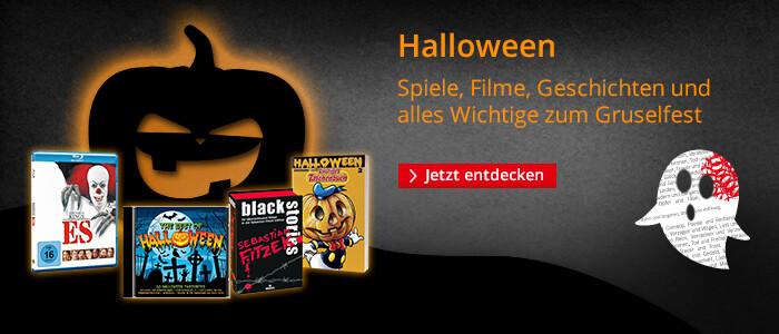 Halloween - Spiele, Bücher, Filme & mehr