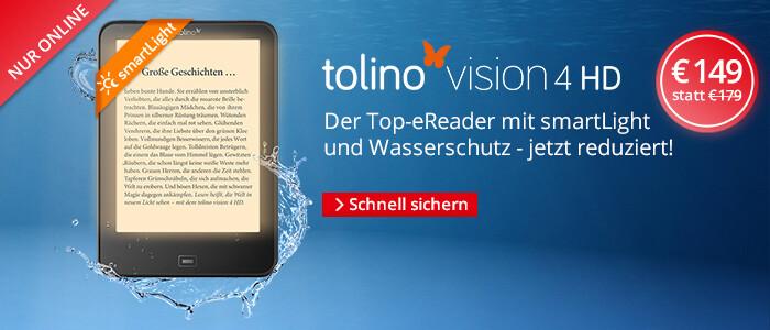 tolino vision 4HD nur € 149