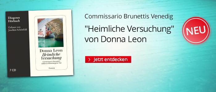 Heimliche Versuchung von Donna Leon bei Hugendubel