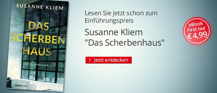 eBook First: Das Scherbenhaus von Susanne Kliem bei Hugendubel