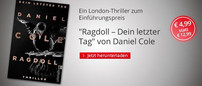 Ragdoll - Dein letzter Tag von Daniel Cole bei Hugendubel