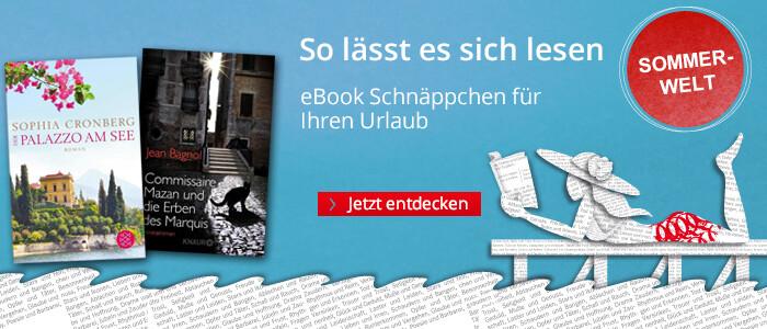 eBook Schnäppchen für den Sommer bei Hugendubel
