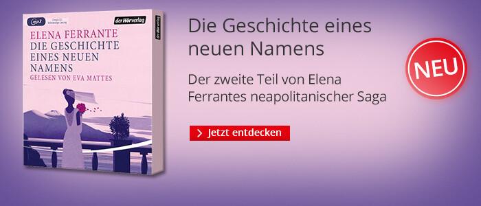 Elena Ferrante - Die Geschichte eines neuen Namens bei Hugendubel.de