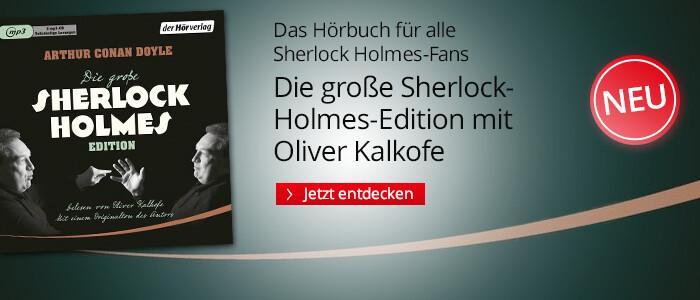 Die große Sherlock-Holmes-Edition mit Oliver Kalkofe bei Hugendubel