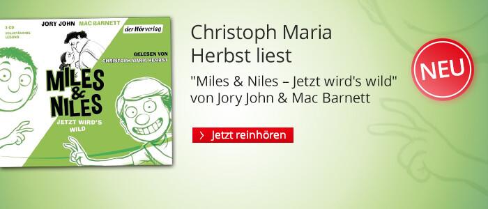 Miles & Niles - Jetzt wird's wild von Jory John & Mac Barnett bei Hugendubel