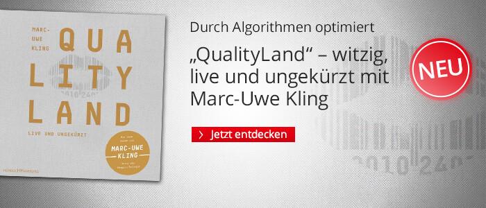 QualityLand von Marc-Uwe Kling bei Hugendubel