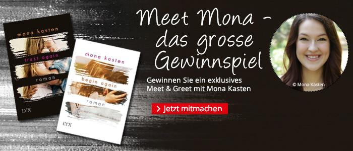 Das große Meet Mona-Gewinnspiel bei Hugendubel