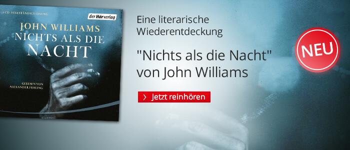 Nichts als die Nacht von John Williams bei Hugendubel