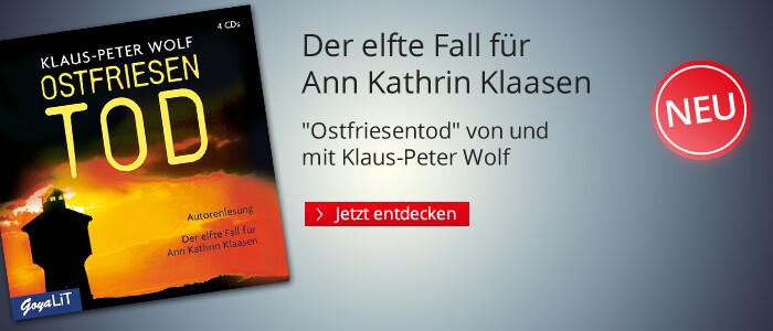 Ostfriesentod von und mit Klaus-Peter Wolf bei Hugendubel