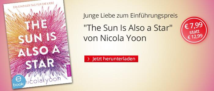 Jetzt zum Einführungspreis: The Sun Is Also a Star von Nicola Yoon bei Hugendubel
