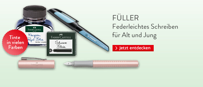 Füller und Tinte