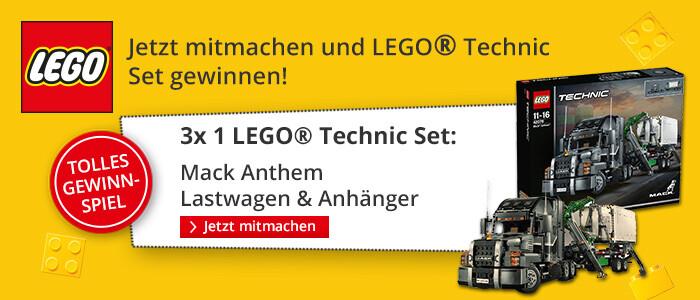 JEtzt mitmachen und LEGO Technic Set gewinnen!