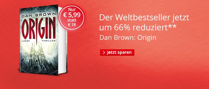 Dan Brown Origin nur € 5,99