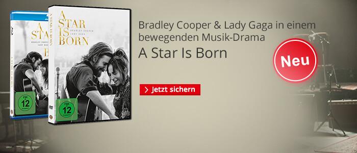 A Star Is Born - DVD & Blu-ray