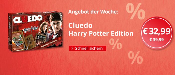 Angebot der Woche: Cluedo - Harry Potter Edition