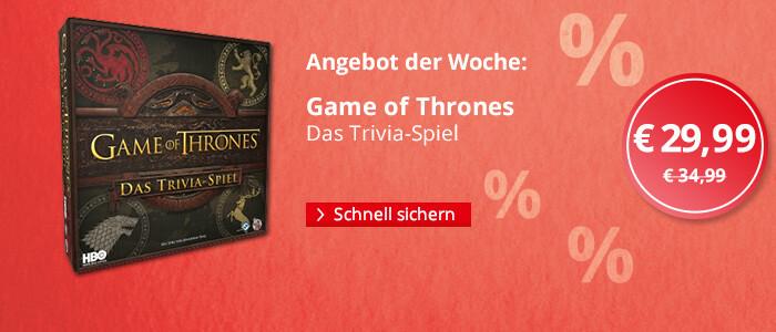 Angebot der Woche: Game of Thrones Trivia