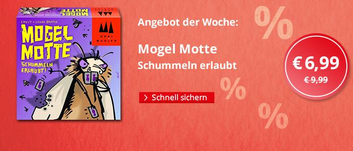 Angebot der Woche: Mogel Motte