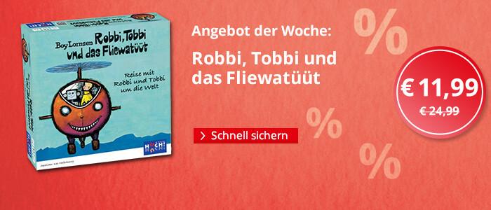 Angebot der Woche: Robbi, Tobbi und das Fliewatüüt (Kinderspiel)