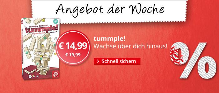Angebot der Woche: tummple!