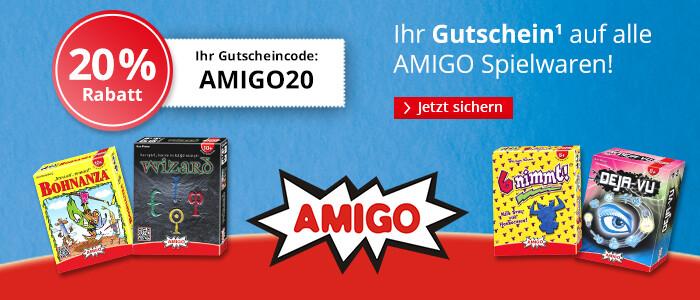 20% sparen auf Spielwaren von AMIGO