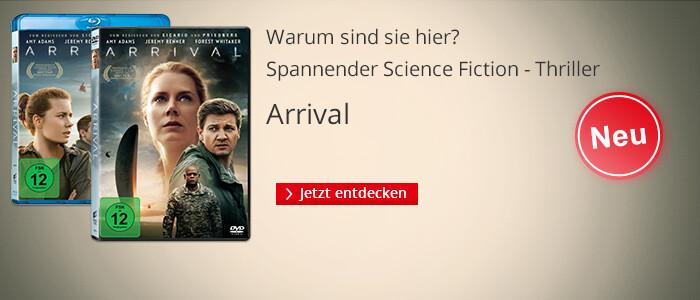 Arrival - jetzt auf DVD & Blu-ray