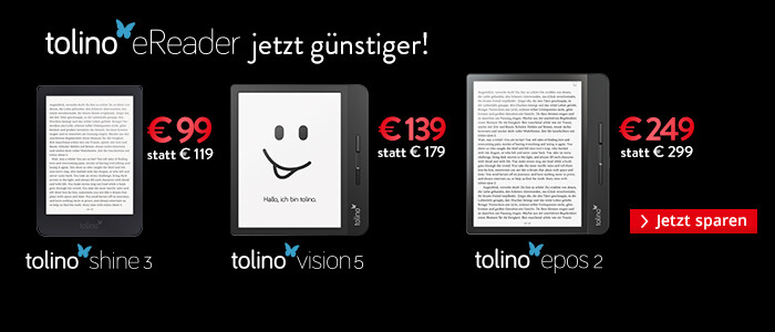 tolino eReader Angebote in der Black Week 2020