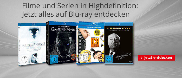 Filme und Serien in Highdefinition: Jetzt alles auf Blu-ray entdecken!