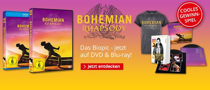 Gewinnen Sie ein cooles Bohemian Rhapsody Fanpaket!