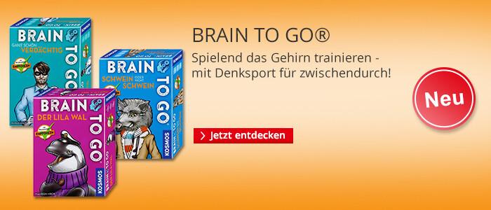 BRAIN TO GO® - Gehirnjogging für Zwischendurch