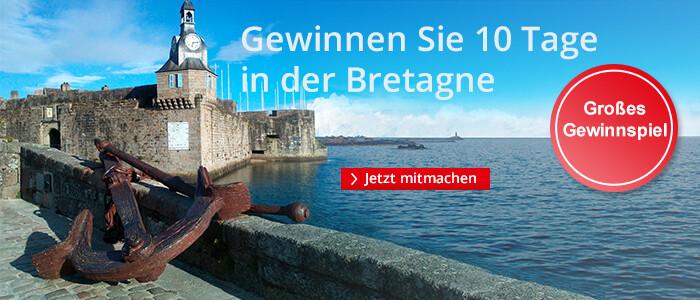 Gewinnen Sie 10 Tage in der Bretagne auf den Spuren von Kommissar Dupin