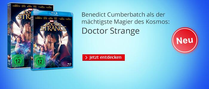 Dr Strange  - neu auf DVD & Blu-ray