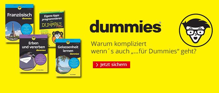 Dummies: Warum kompliziert, wenn's auch